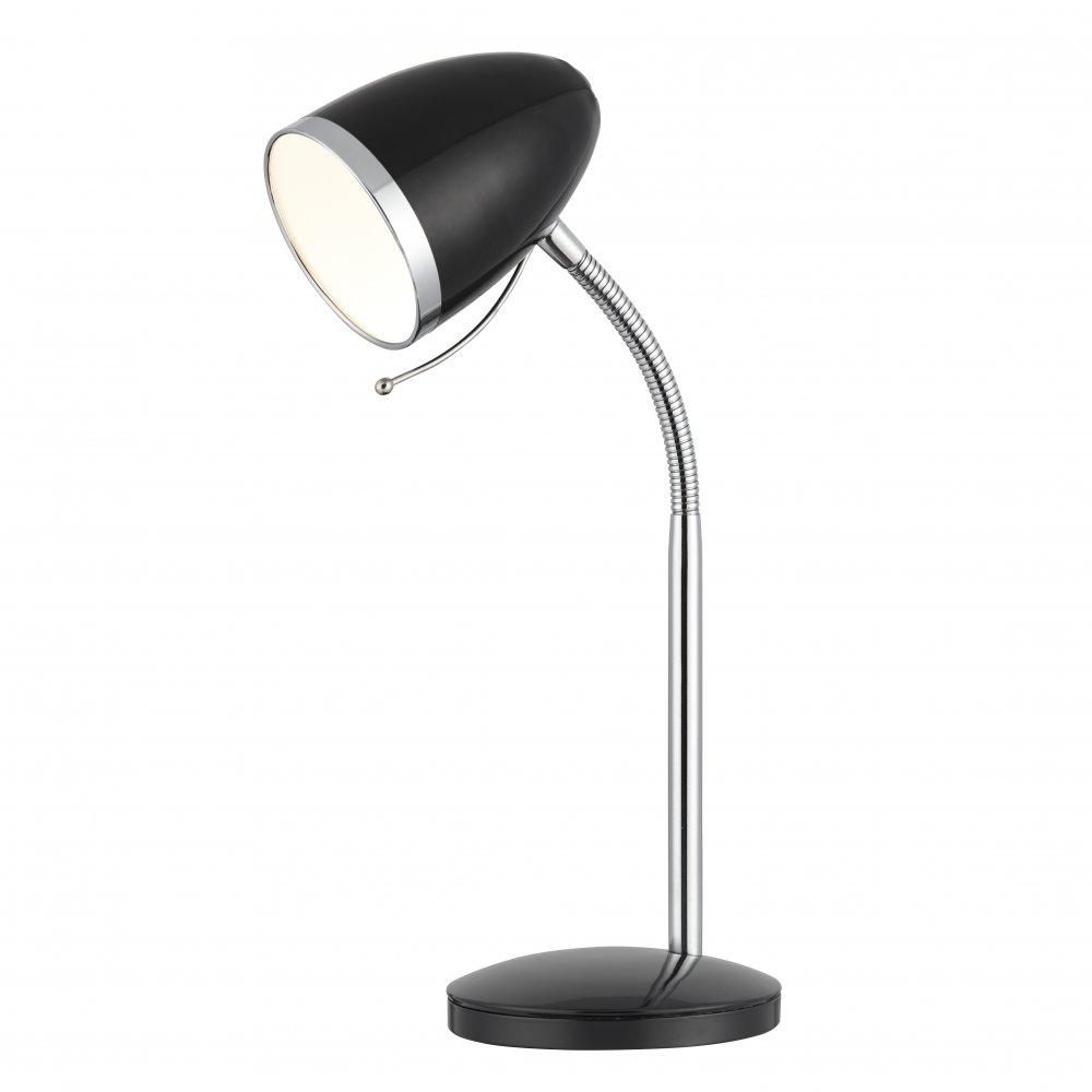 6145bk Desk Partners Flexi Head Desk Lamp