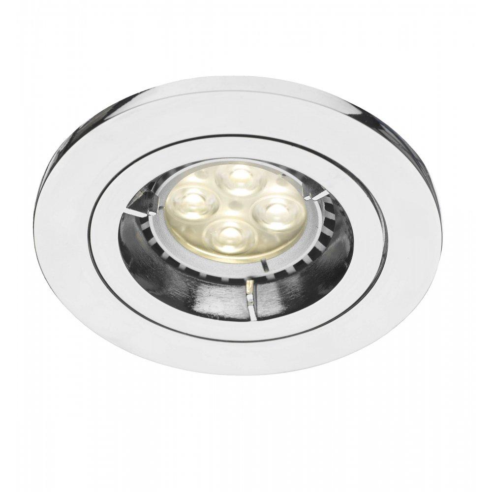 the latest 6f937 5de63 Där Lighting Group APA2050 Apache polished chrome downlight