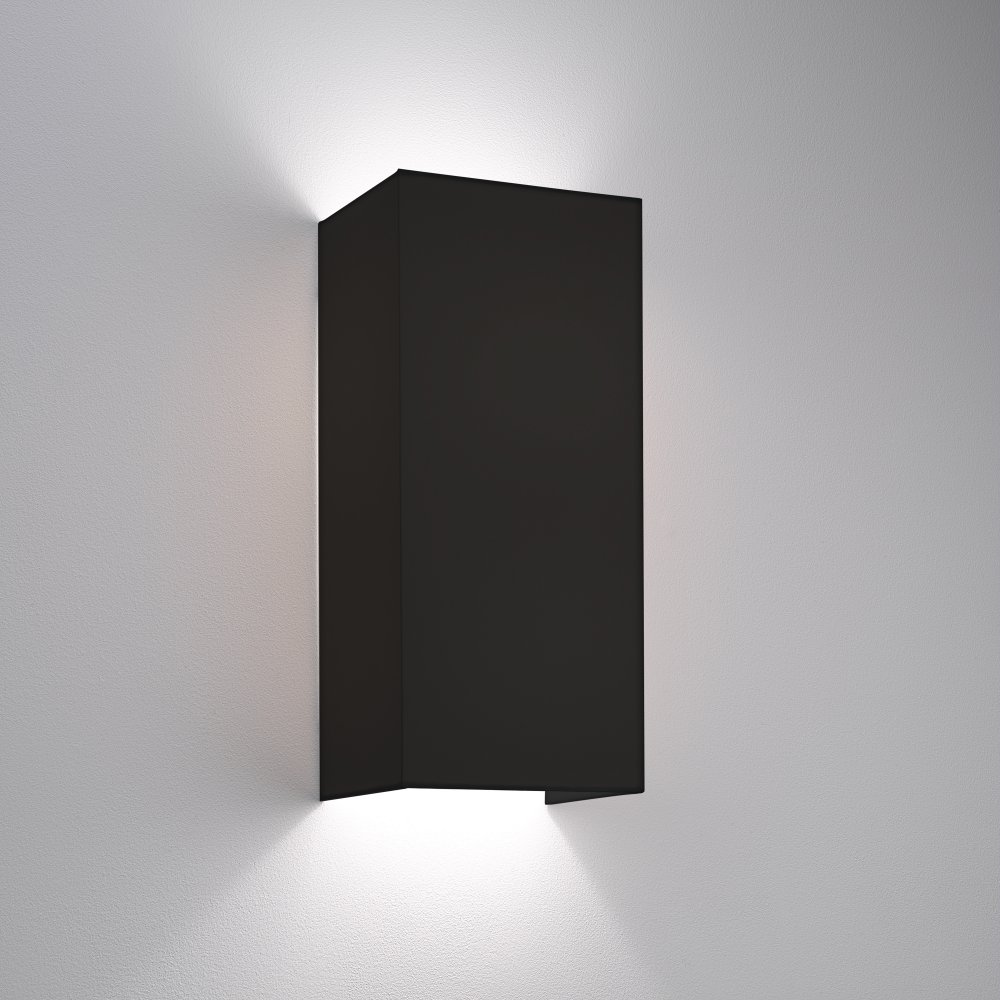 4117 Chuo 380 Black Wall Light & Chuo 380 4117 black interior lighting wall lights