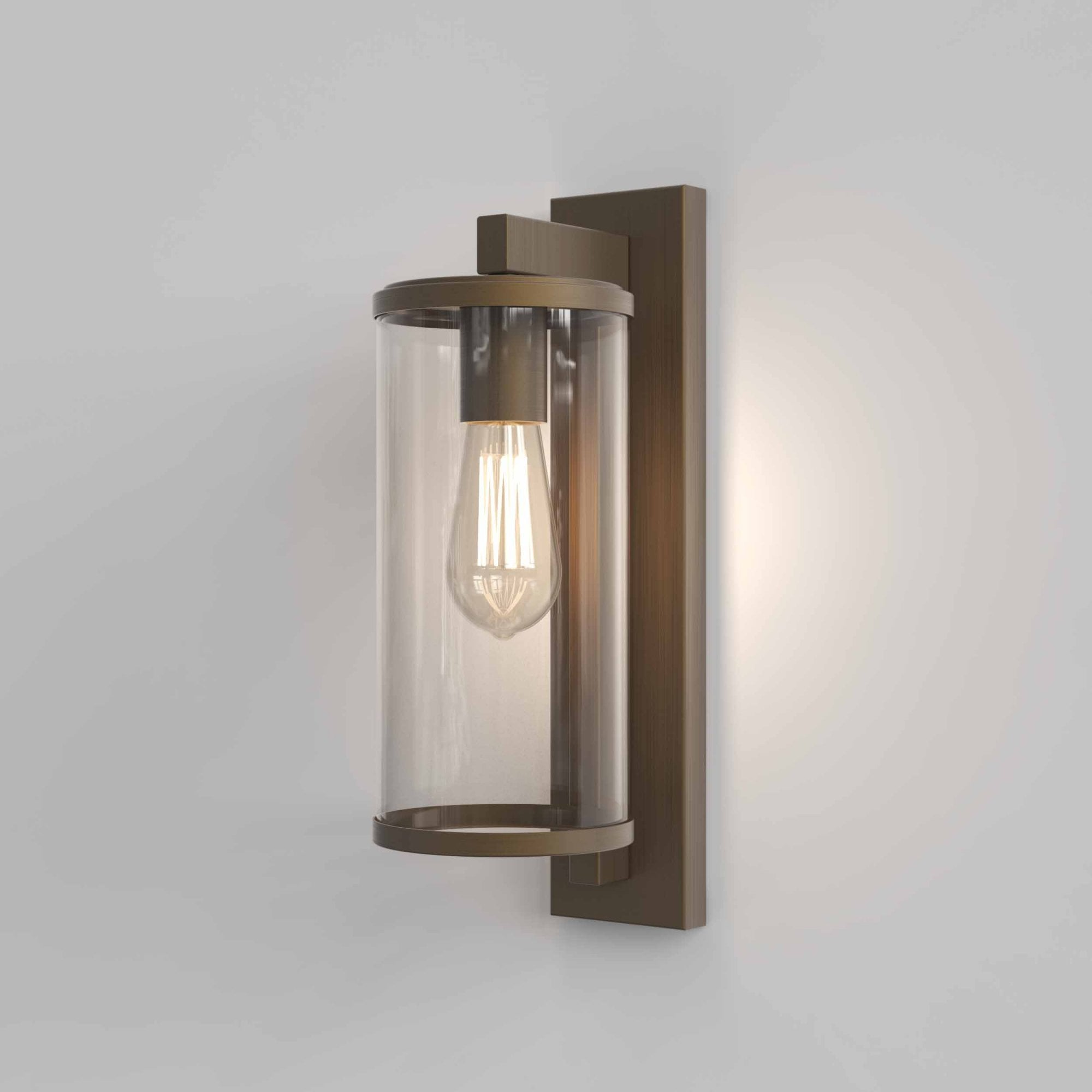 1413002 Pimlico Outdoor Wall Light Bronze Astro Lights2go