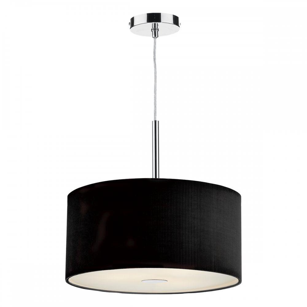 Zaragoza 3 Light Pendant Black 400mm Pendant Design Ideas