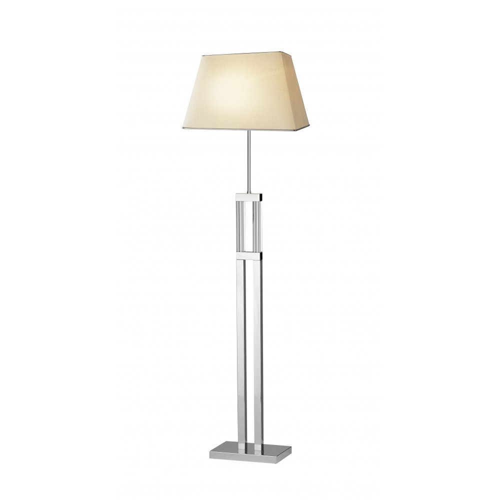 Där Lighting Group DOM17 Domain Floor Standing Lamp With Shade