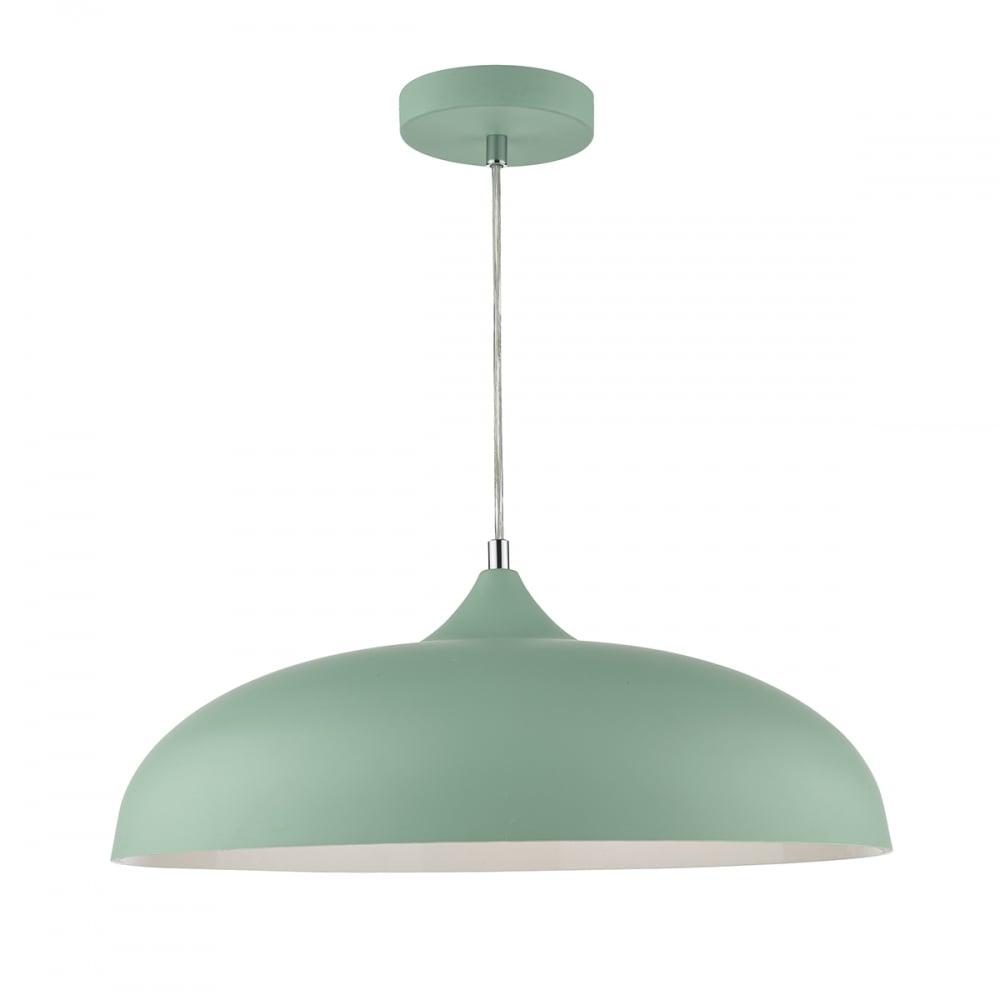 size 40 fa8b6 761e9 Där Lighting Group KAE0124 Kaelan 1 Light Pendant Light Green