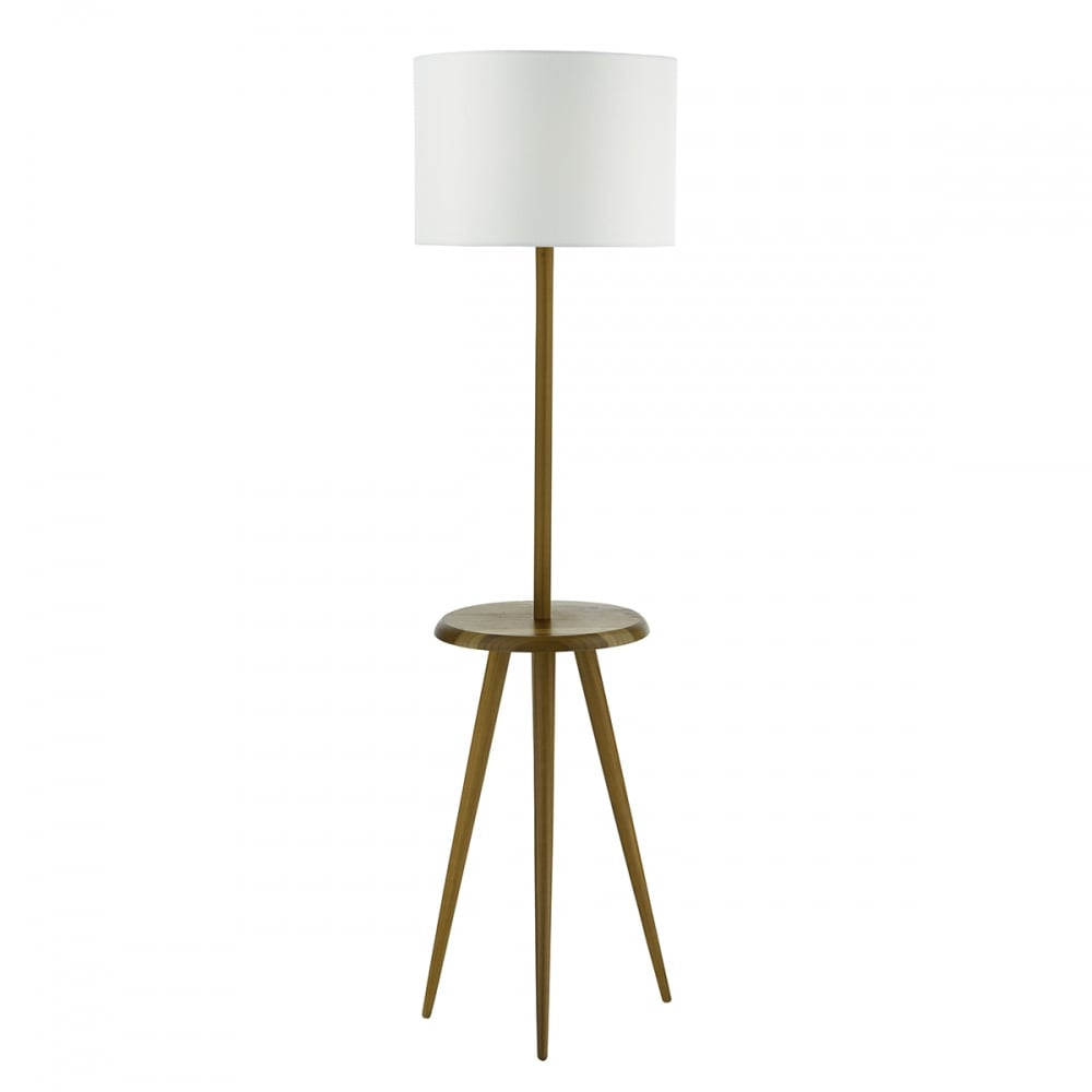 Wyc4943 Wycombe Floor Lamp Wood Base Only