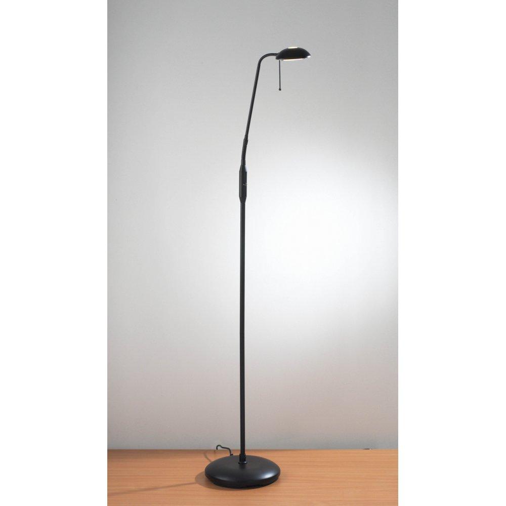 Där Lighting Group HAL17 Halo Floor Standing Lamp - Black