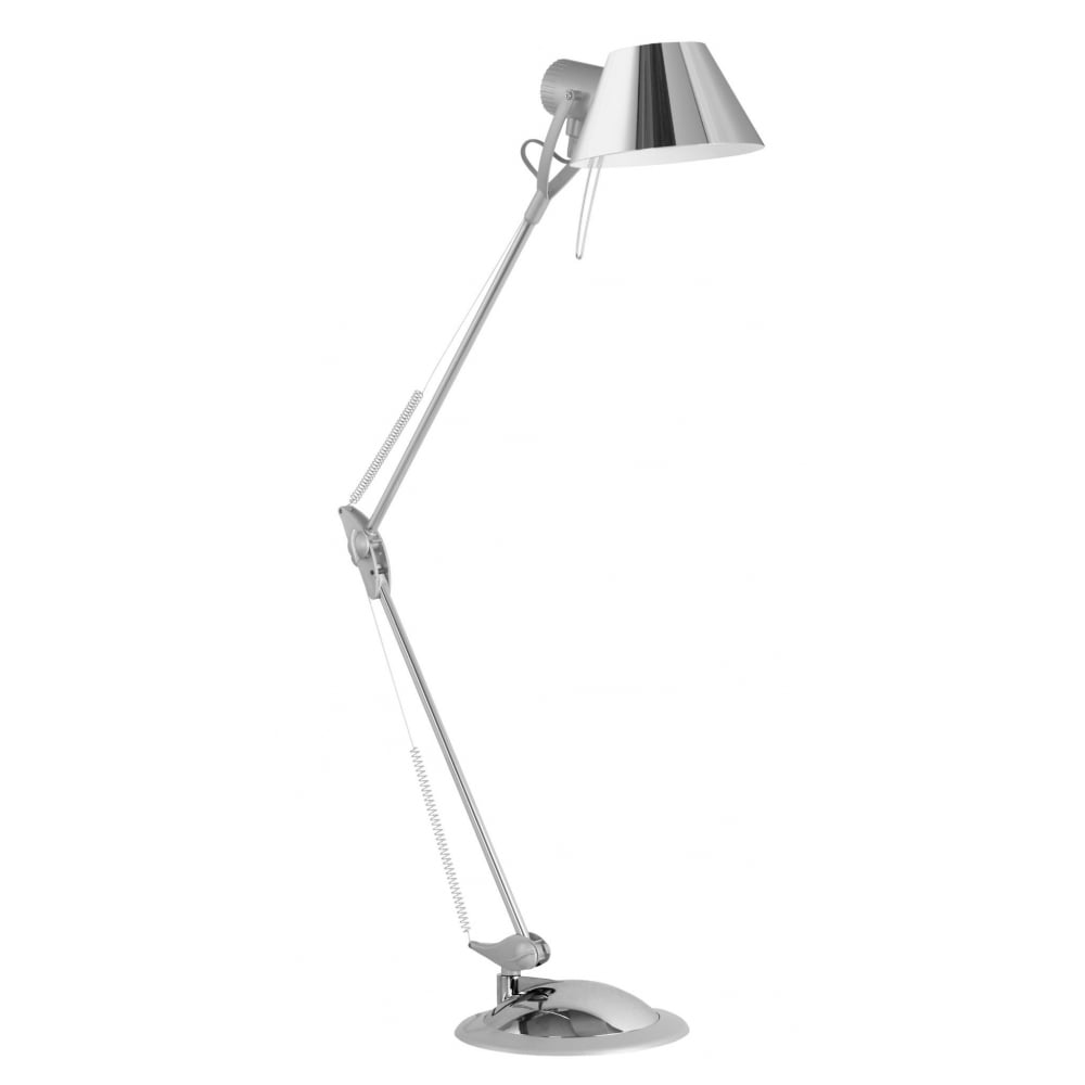 Terrific Eglo 83249 Office Table Lamp Chrome Silver Download Free Architecture Designs Aeocymadebymaigaardcom
