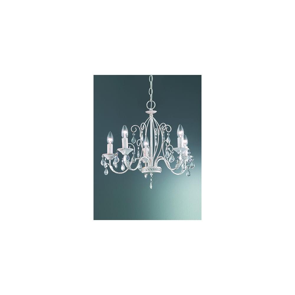 Aria 5 Light Chandelier | 5 light chandelier, Chandelier, Light