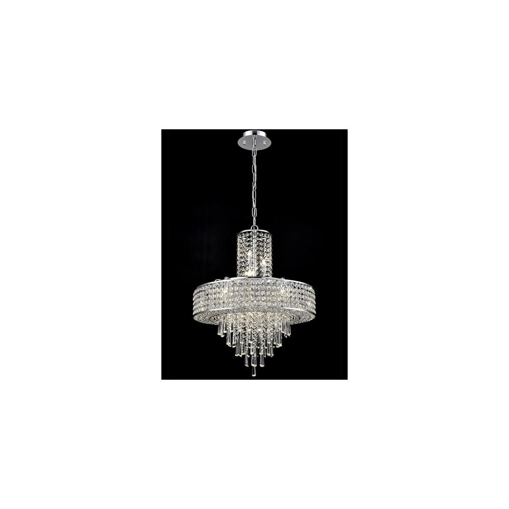 Franklite Fl2382 12 Duchess 12 Light Pendant Fitting