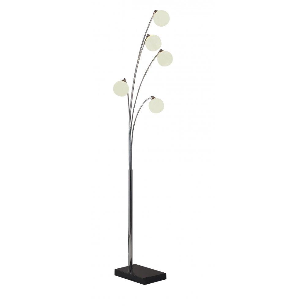 online retailer 0b88d 75c8e Highgate HIG4950 5 light floor standing lamp with glass shades
