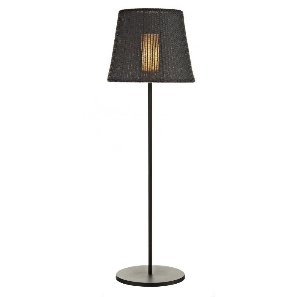 info for 16aab 0fa50 Ibiza IBI4922 outdoor floor lamp with shade in black IP44