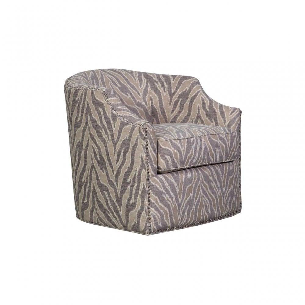 Surprising Aj 005 Lt Light Taupe Allure Jewel 1 Seat Swivel Chair Inzonedesignstudio Interior Chair Design Inzonedesignstudiocom