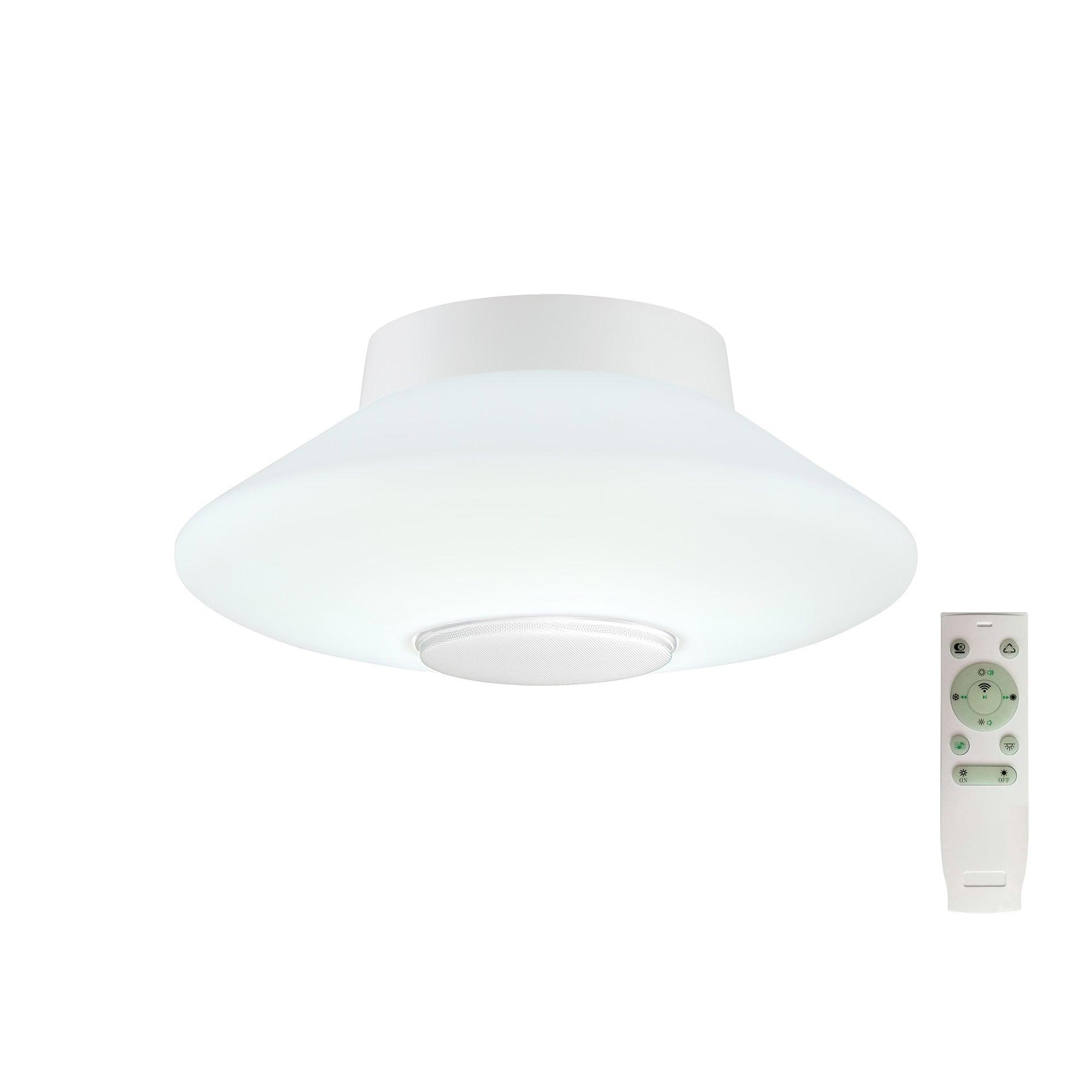 Lg81729 Vegas Bathroom Flat Ceiling Led Bluetooth White