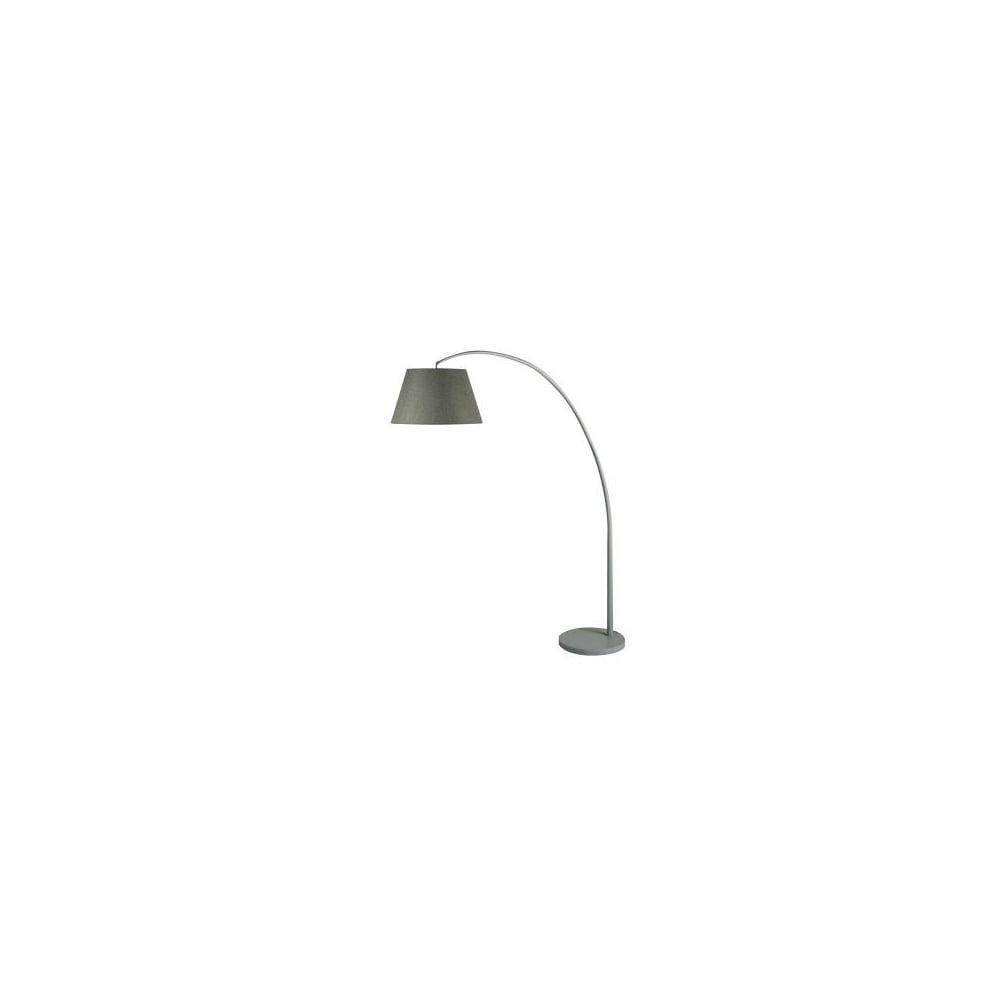 Searchlight 6791gy Arc Floor Lamp Washed Grey Frame Grey