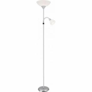 2cfb4e4bdaac 7819-9CC 9 light chrome floor lamp with glass beads